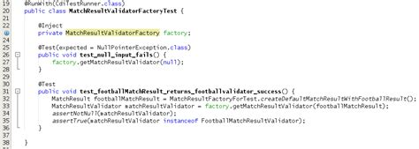 factory pattern unit testing modernized pattern implementation with cdi part 1 the