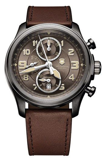 Swiss Army Infantry Light Brown victorinox swiss army 174 infantry vintage automatic