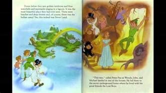 walt disney peter pan gold book