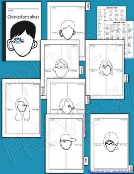 wonder 3 activity 8466812717 wonder by r j palacio interactive notebook character mini flip minis notebooks and
