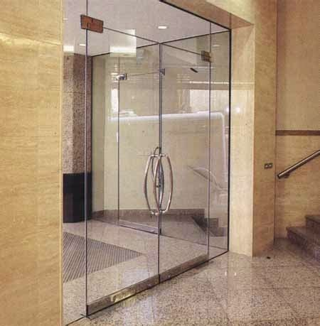 Pintu Kaca Piting Floor Hinge kaca tempered dan laminated pintu fitting frameless tempered