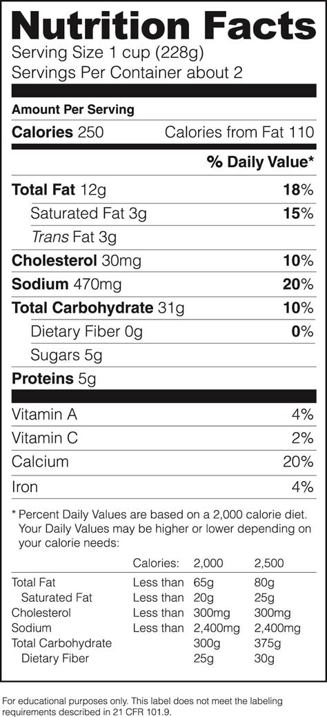 nutrition facts label template nutrition facts label template play on info