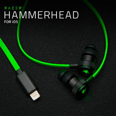 Razer Hammerhead Pro Gaming Headset razer hammerhead pro v2 in ear headphones with mic and in line remote