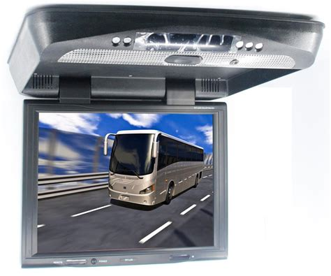 Car Dvd Player Ceiling Mount by Cad 1550d Roof Mount 15inch Monitor Dvd Player Ir Fm Sender