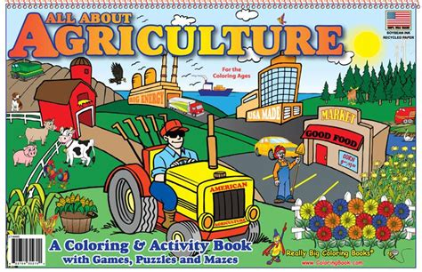 Coloring Books   All About Agriculture LapTop