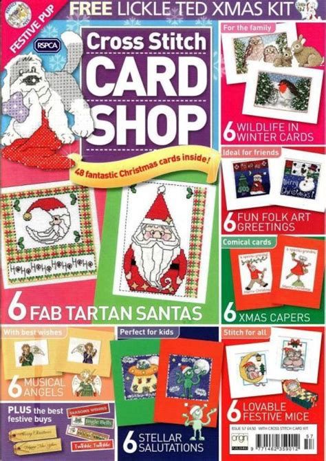 best card magazine 14 best images about cross stitch card shop on
