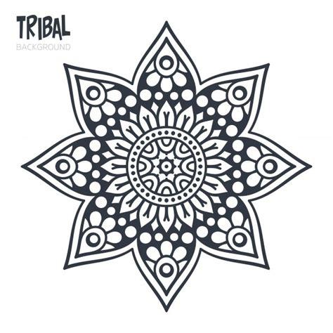 image gallery mandala star tribal mandala star design vector free download