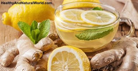 Detox Drinks Philippines by How To Make Cleansing Lemon Tea With Many Health