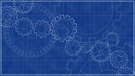 Blueprint Planner plan darchitecte avec tournante animation de fond hd