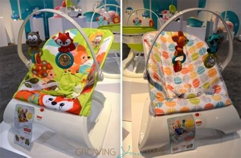 Look Like Nuna Bouncher fisher price debuts new 2014 15 infant nursery collection