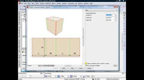 design online packaging impact cad cam packaging design software design components