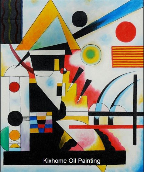 kandinsky swinging balancement swinging by wassily kandinsky reproduction