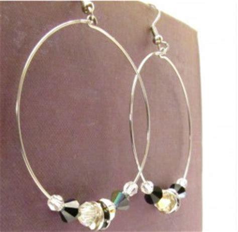 how to make metal st jewelry how to make classic beaded hoop earrings
