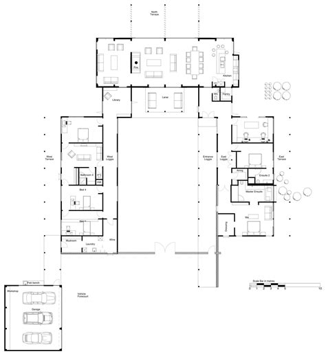 Modern Floor Plans For New Homes | house plans and design modern house plans new zealand