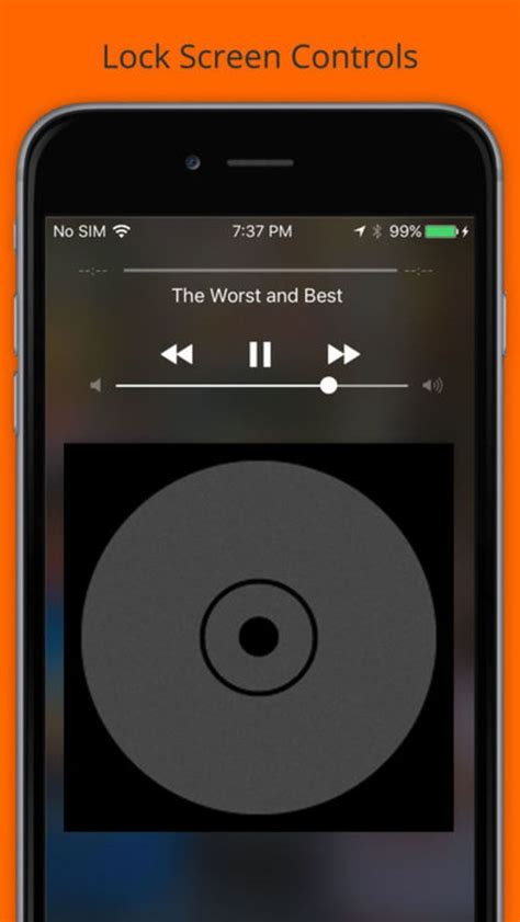 iphone to mp3 free play mp3 player streamer for iphone