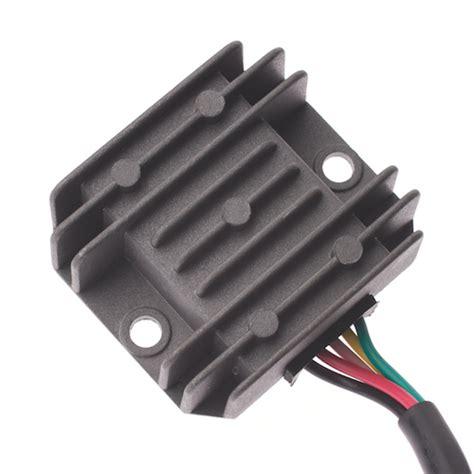 5 wire voltage regulator rectifier wiring diagrams