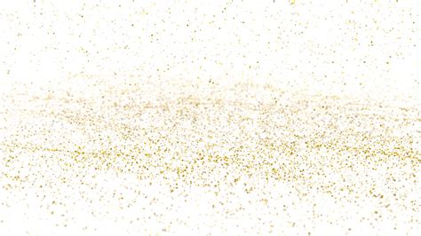 gold and white background animated falling and realistic gold flakes
