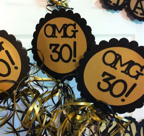 30th birthday table centerpieces 30th birthday decorations centerpiece signs