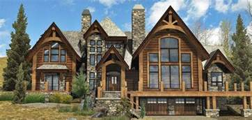Large Log Home Floor Plans Rocky Mountain Log Homes Manufacturer Country Log Cabin