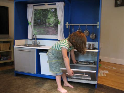 tv cabinet made into play kitchen convert old tv cabinets into state of the art play