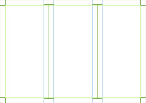 blank brochure templates trifold brochure template clip at clker vector
