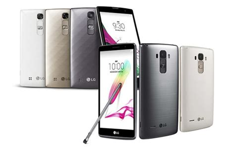Handphone Lg G4 Stylus lg g4 stylus g4c announced with android lollipop techone3