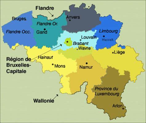 belgium provinces map verwelkoming bonjour hello to friends of belgium