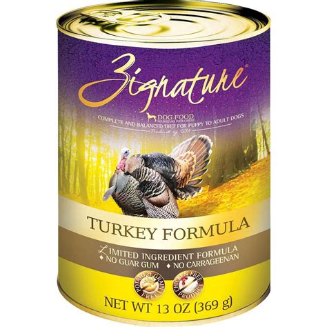 zignature food review zignature limited ingredient turkey canned food whitedogbone