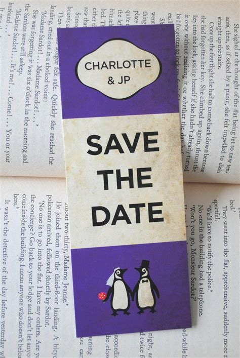 the wedding date books retro books wedding save the date save the date