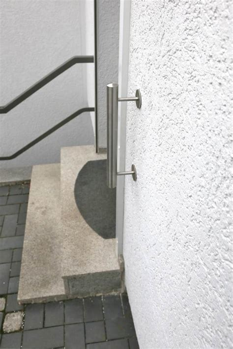 treppenhandlauf edelstahl edelstahl treppenhandlauf mit einem durchmesser 42 mm