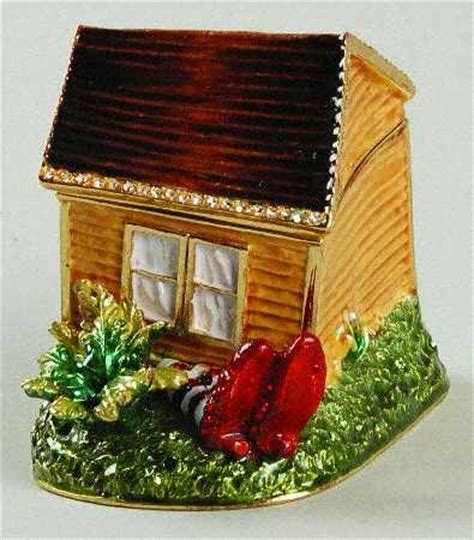 dorothy s house wizard of oz department 56 wizard of oz bejeweled boxes at replacements ltd
