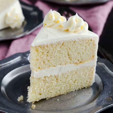 cake vanilla vanilla cake recipe baked by an introvert