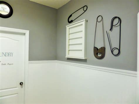 How To Install Beadboard Wallpaper - diy laundry room update beadboard paintable wallpaper be my guest with denise