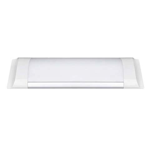 poliplast illuminazione plafoniera led lineare 10w 810lm 3000k 400801w poliplast