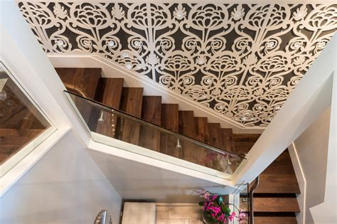 Classic Stairs Design Arbutus Classic Luxury Transitional Staircase Vancouver By Beyond Beige Interior