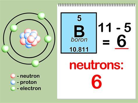 Number Of Protons In F by Het Aantal Neutronen Protonen En Elektronen Bepalen Wikihow