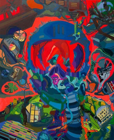 large scale dynamic paintings  franz ackermann