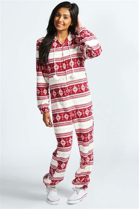 christmas pom pom onesie gt gt http www boohoo com