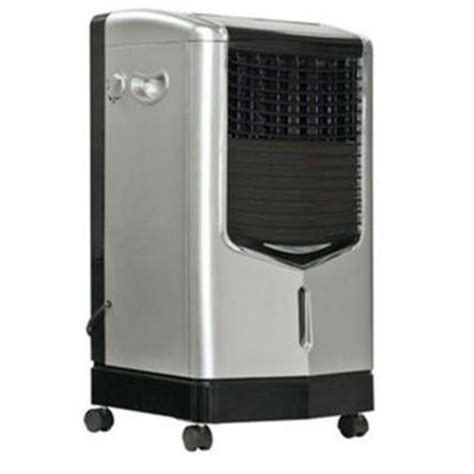 kuulaire 470 cfm 3 speed portable evaporative cooler for