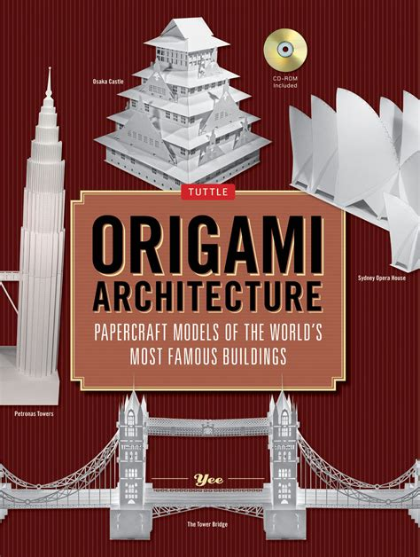 Papercraft Book - origami architecture newsouth books