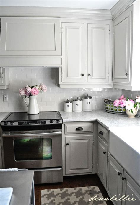 light gray cabinets kitchen 12 gorgeous and bright light gray kitchens table and hearth
