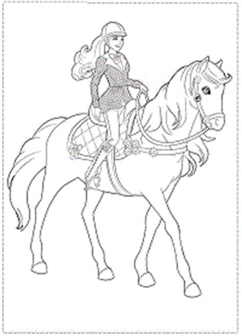 barbie majesty coloring pages barbie e il cavallo leggendario da colorare e stare gratis