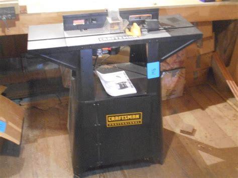 craftsman professional router table le farm equipment
