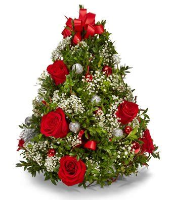 christmas centerpieces delivered oh tree bouquet at from you flowers