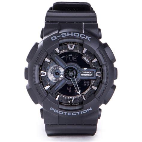 G Shock Ga 110 Gshock Ga110 Warna Black 1 g shock ga 110 black