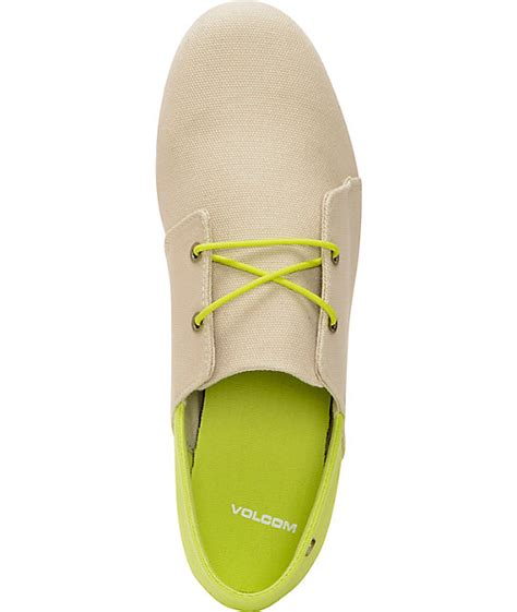 volcom soul mates canvas slip on shoes zumiez