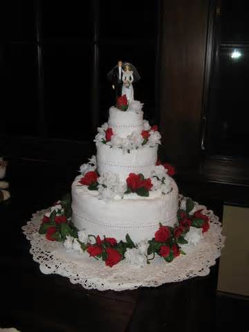 wedding towel cake creative ideas pinterest