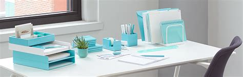 blue and white desk accessories 21 excellent cute office organization supplies yvotube com