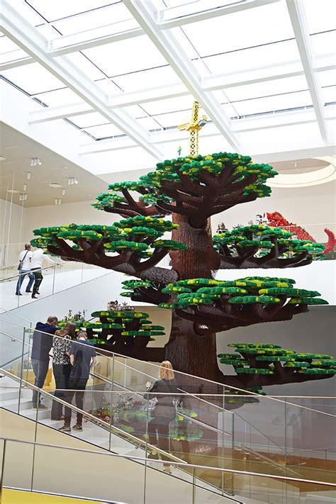 design museum london lego masters twenty one colorful cubes compose denmark s newly opened
