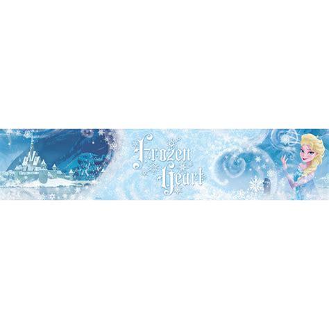 frozen wallpaper border disney frozen heart elsa wallpaper border 5m